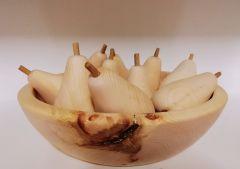 Birne aus Zirbenholz
