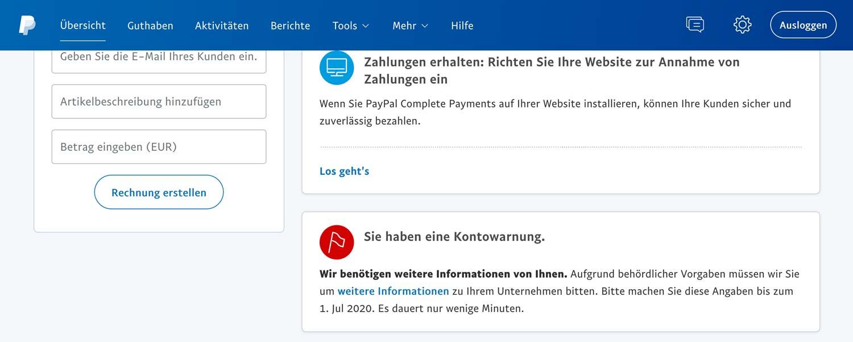 Paypal Konto Löschen Und Neu Erstellen