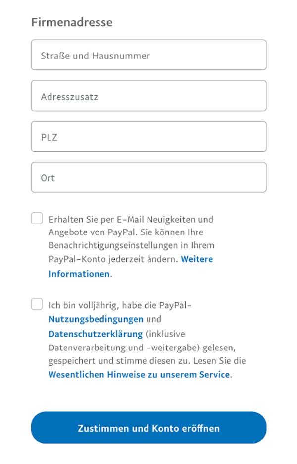 Paypal Konto Schließen Und Neu Eröffnen