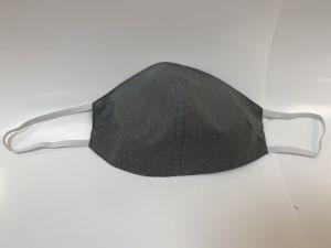 Teenagerformmaske Grau Tupf 11-13 Jahre (Gummilänge 18 cm)>